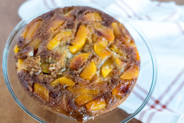 Fall Peach Dessert