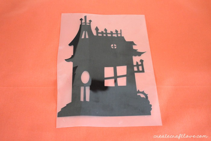 haunted house pillow 2