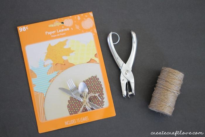paper leaf garland 1