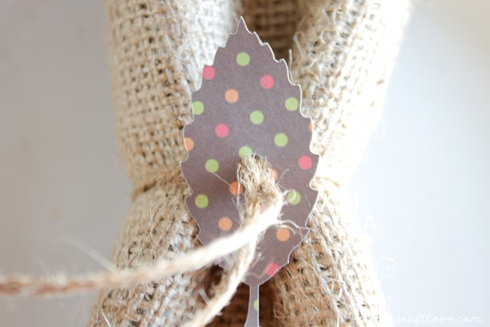 paper leaf napkin ring 4