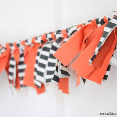 Scrappy Fabric Garland