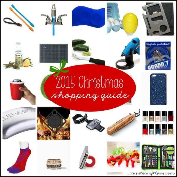 Grab your 2015 Christmas Shopping guide at createcraftlove.com!