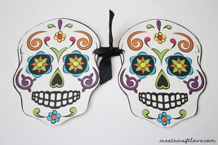 sugar skull garland 3