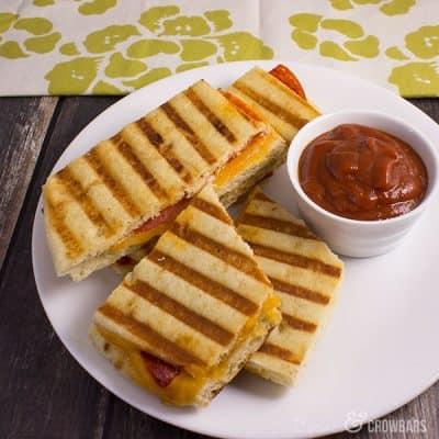 Easy Pizza Panini | C&C