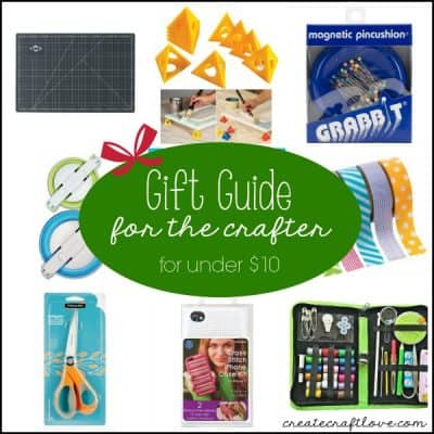 Gift Guide for Crafters - all under $10!! via createcraftlove.com