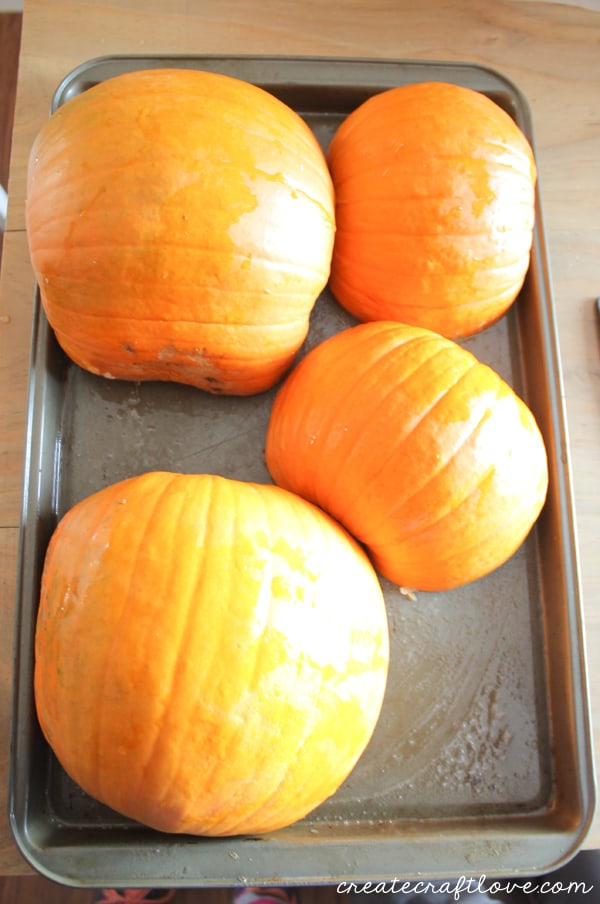 baking pumpkin