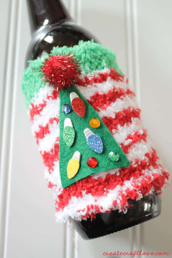 ugly christmas sweater coozies 2
