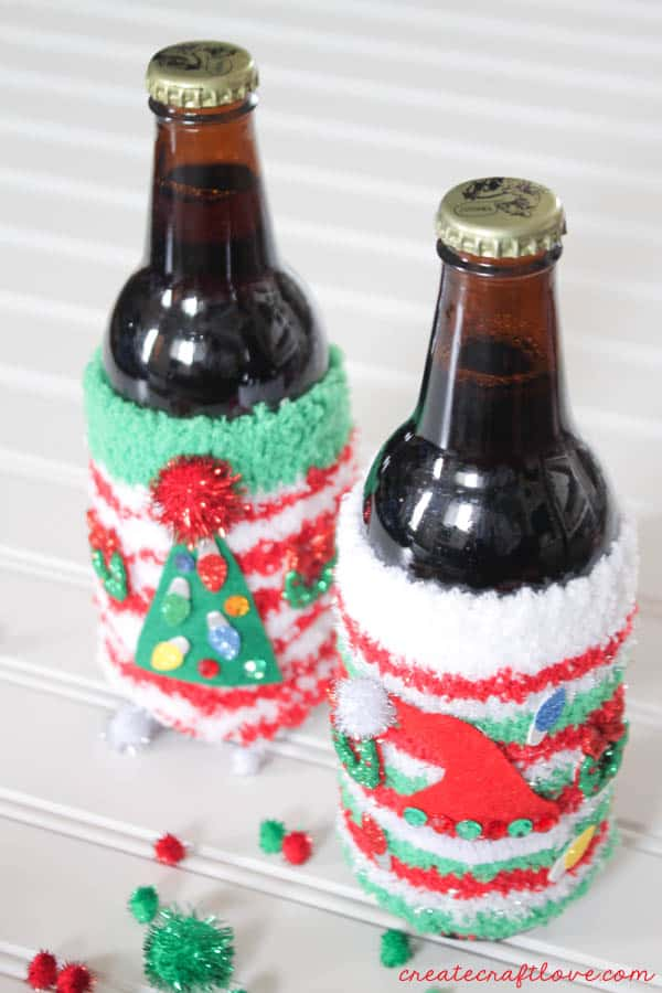 ugly christmas sweater coozies 3