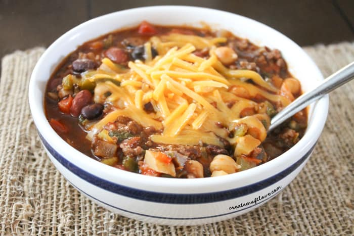 chili recipe upclose