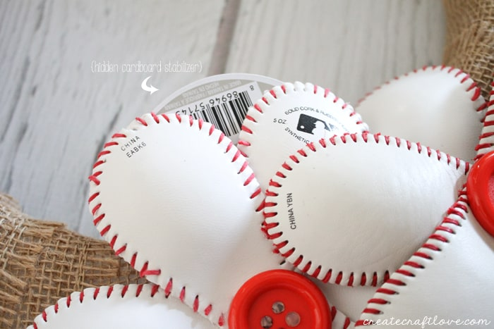 baseball wreath 4
