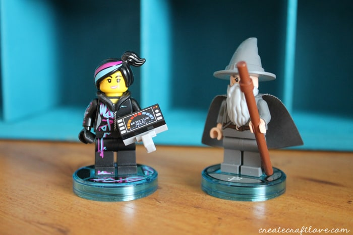 lego dimensions storage gandalf wildstyle