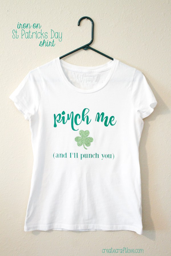Iron On St Patricks Day Shirt