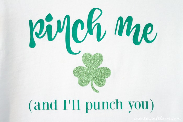 this iron on st patricks day shirt will protect you from pinching fingers via