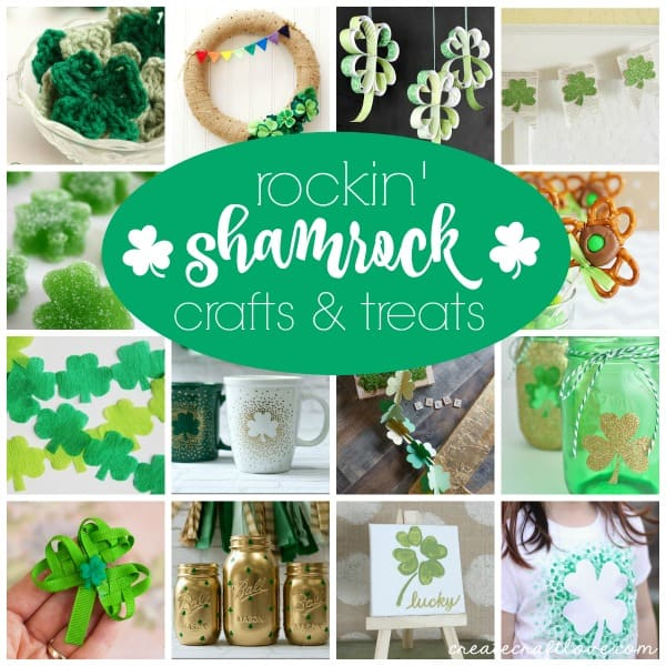 15 Rockin' Shamrock Crafts & Treats via createcraftlove.com!