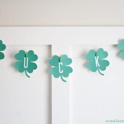St Patricks Day Banner Printable