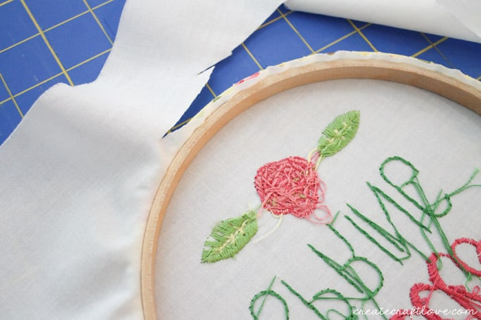 fabric wrapped embroidery hoop 8