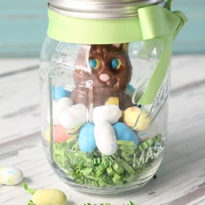 Mason Jar Easter Treat