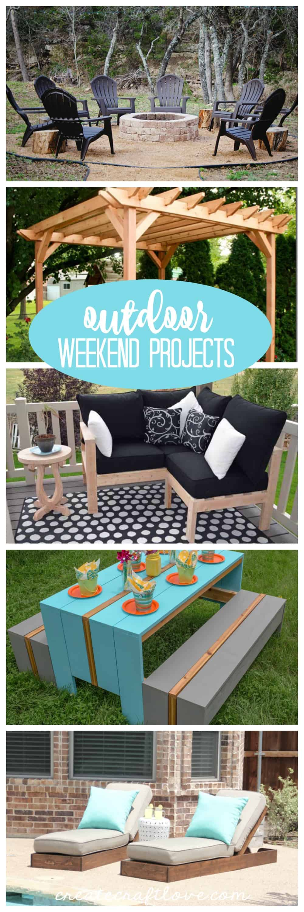 These Outdoor Weekend Projects won't take any time at all!