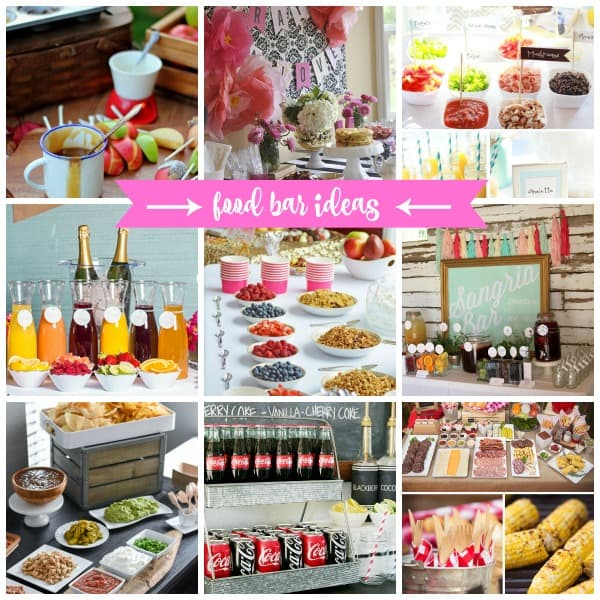 brunch bar ideas