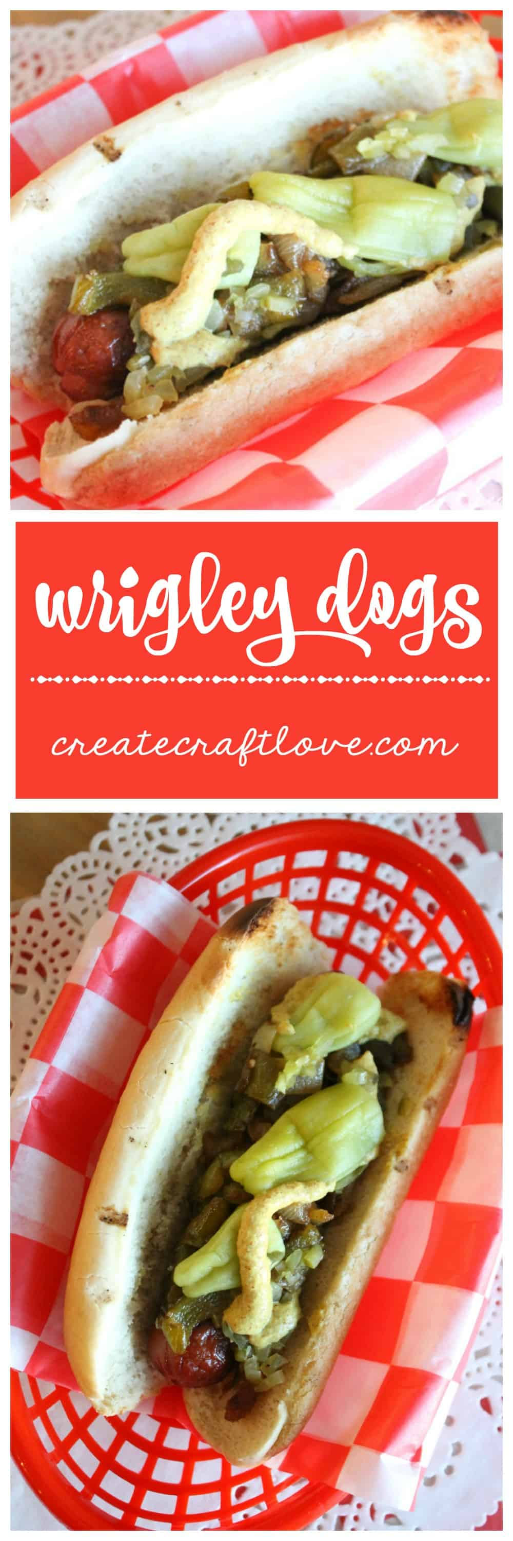 When baseball season comes around, I like to cook some of these Wrigley Dogs and enjoy the smells of Wrigley Field.