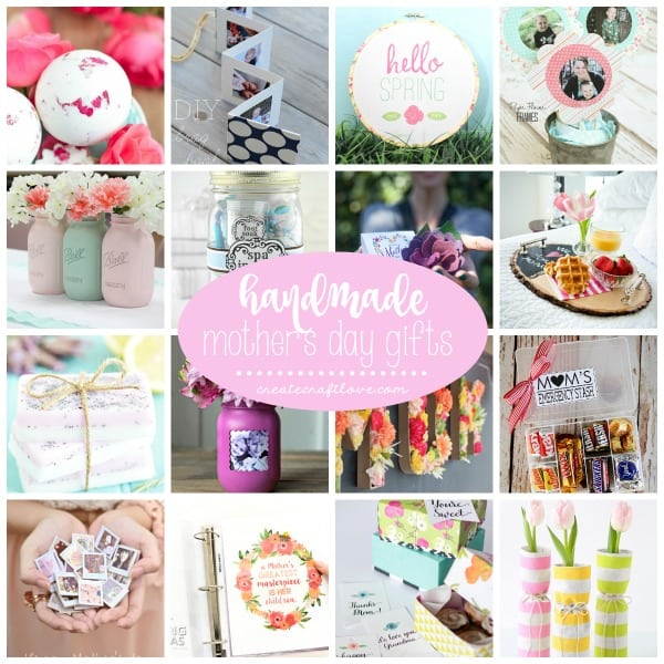 Mom is sure to love any of these Handmade Mothers Day Gifts!