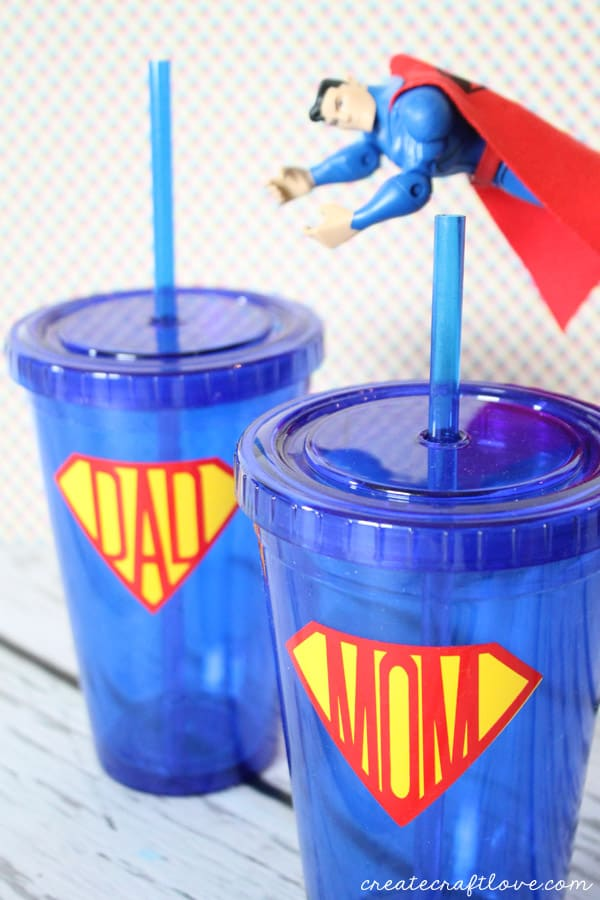 superhero cups vertical