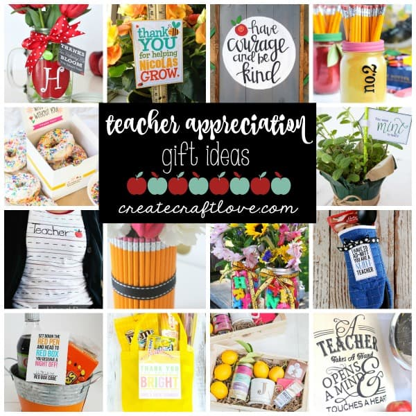 These Teacher Appreciation Gift Ideas are just some of the ways to show the teachers how much you care about them!