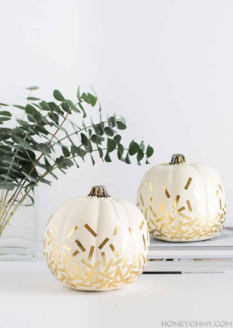 DIY-Gold-Confetti-Pumpkins