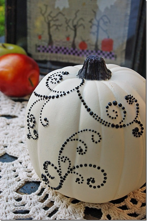 bejeweled pumpkin