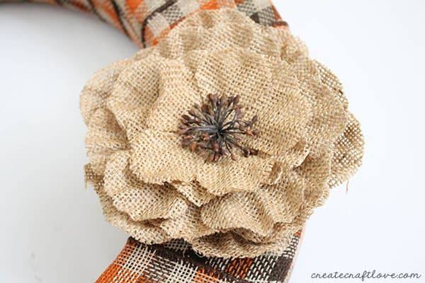 burlap and plaid fall wreath 5 (1 of 1)