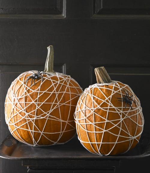 cobweb pumpkin