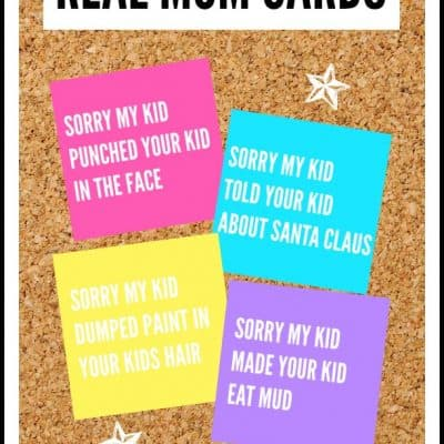 Real Mom Cards Printable