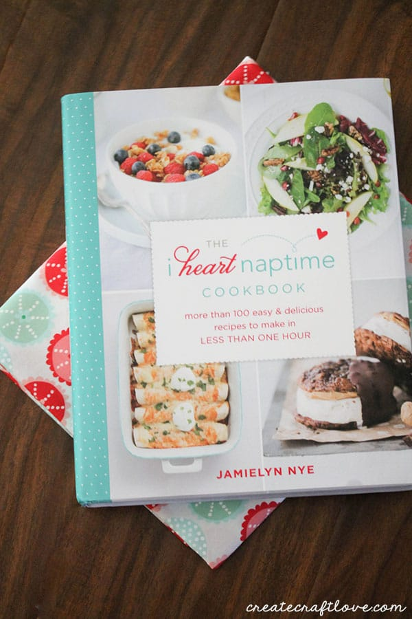 Check out the I Heart Naptime Cookbook!  Available at B&N, Amazon, Target and Deseret Book!