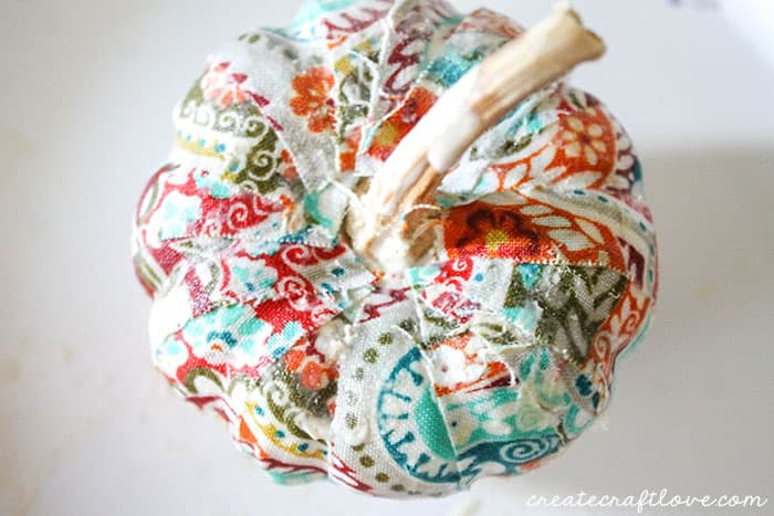 mini mod podge fabric pumpkins 5 (1 of 1)
