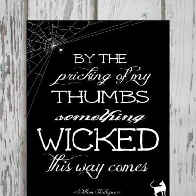 Wicked Printable