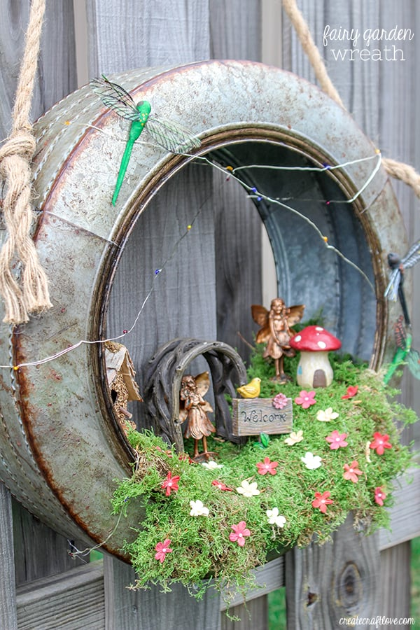Diy projects with mason jars - Create A Whimsical Fairy Habitat To Welcome Spring This Fairy Garden