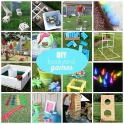 Outdoor Backyard Games for summer!