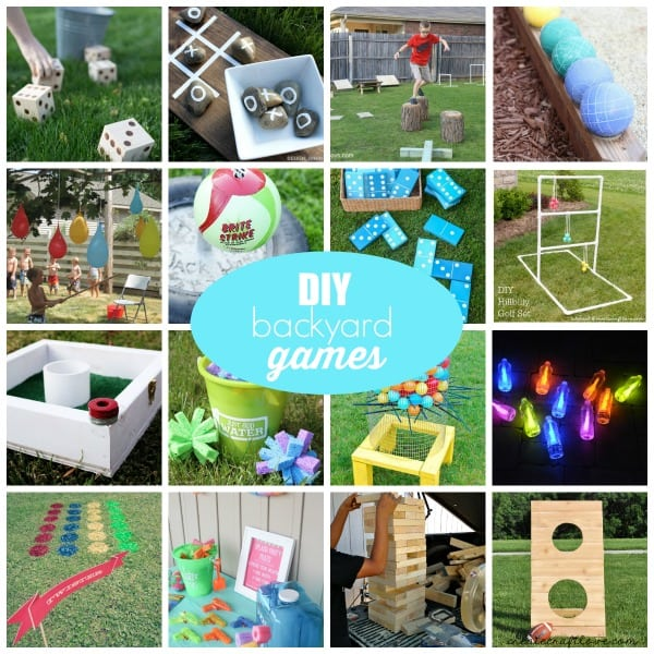 Outdoor Backyard Games for summer!