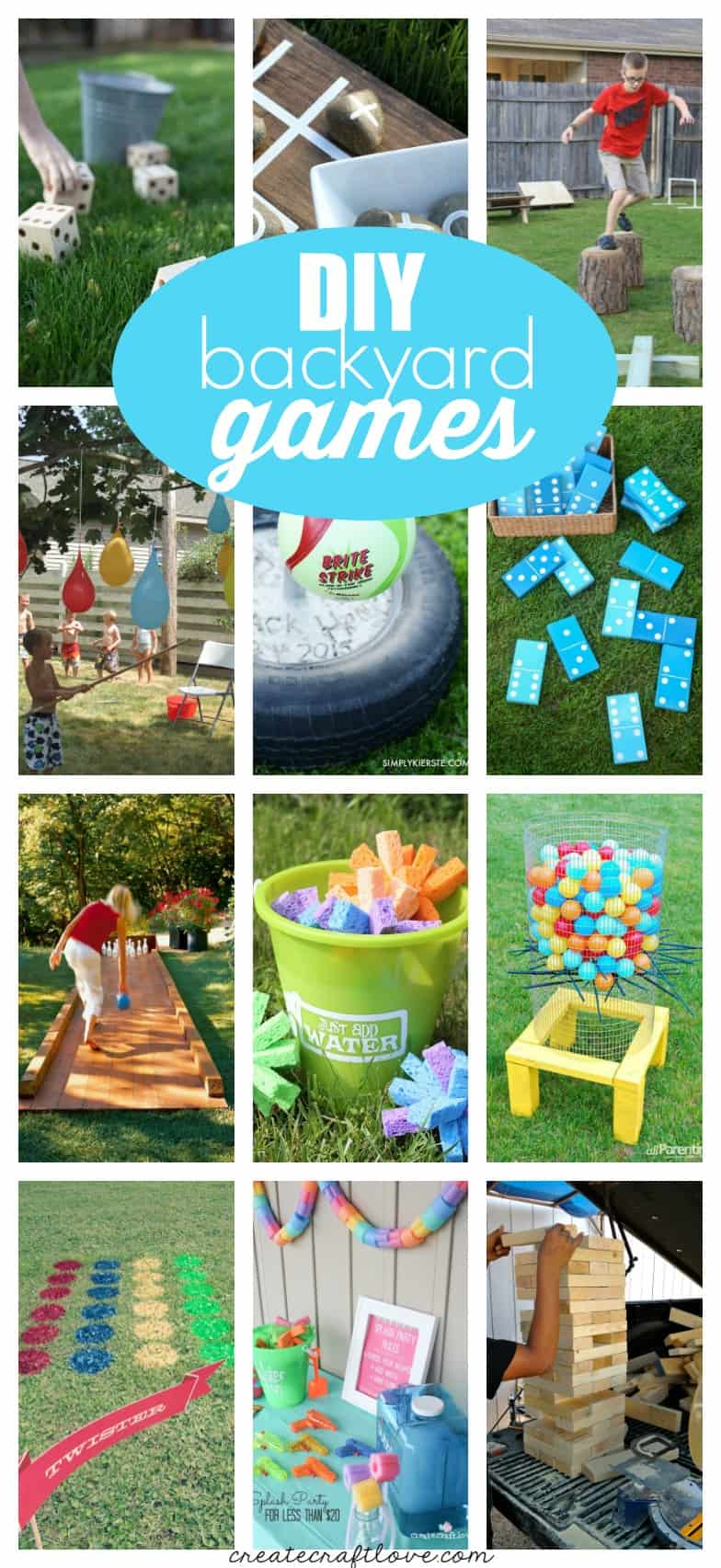 DIY Backyard Games for summer fun!