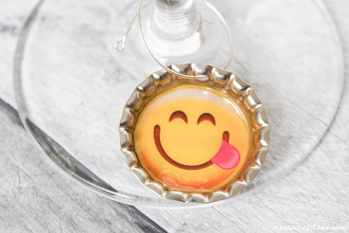 Emoji Drink Tags add a little fun to your next party!