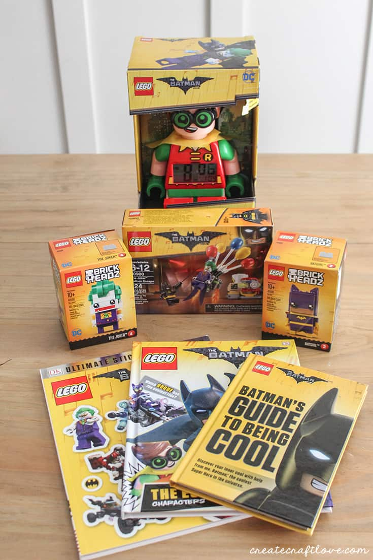LEGO Batman Movie goodies