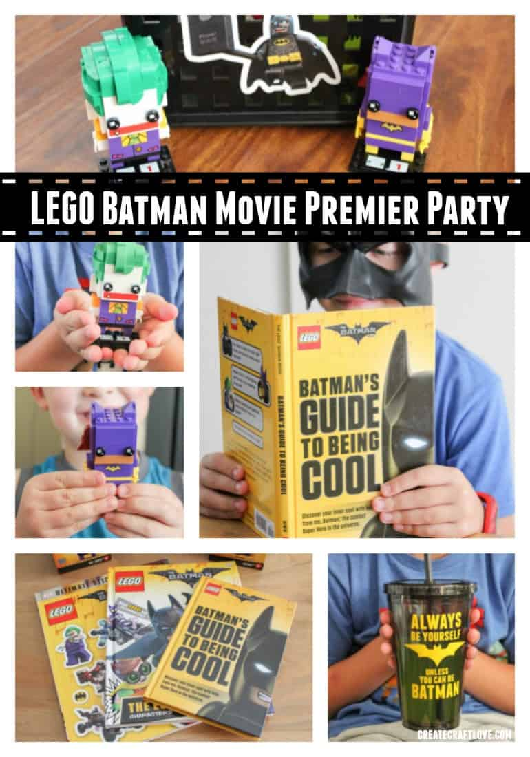 Throw an awesome LEGO Batman Movie Premier Party with these amazing ideas!