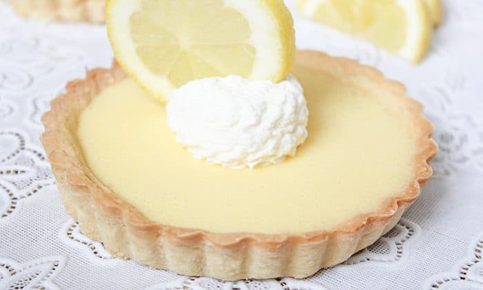 Looking for cool, refreshing summer desserts, I came across the lemon tart recipe and decided to try it out.