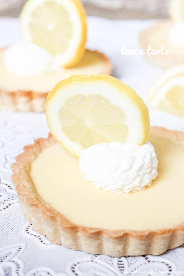 The BEST Lemon Tart Recipe!