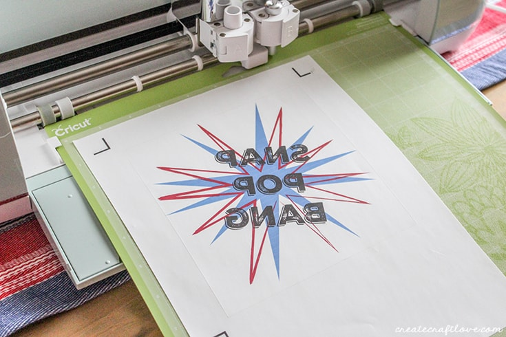 Use printable iron on vinyl to create your own 4th of July Shirt!