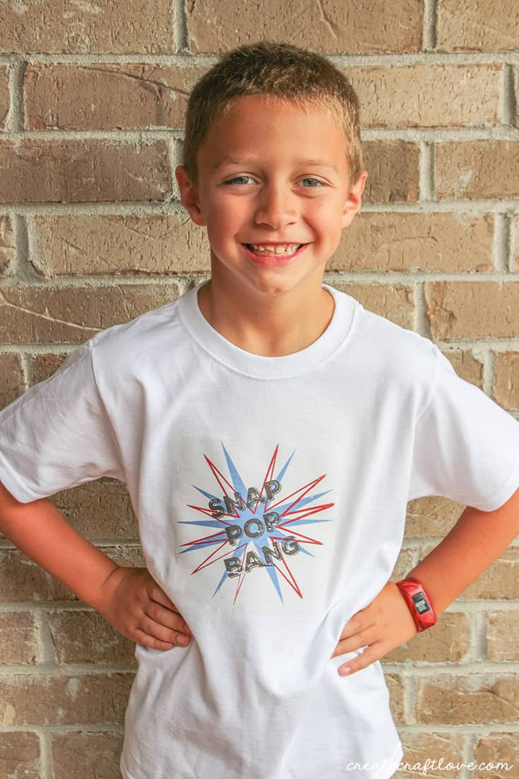 Learn to upload your own images into Cricut Design Space to create your own 4th of July Shirt!