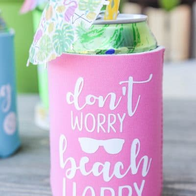 Personalized Can Koozies tutorial!