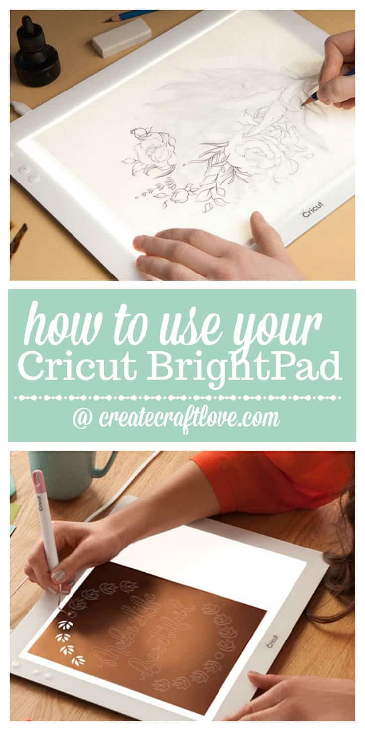 How to use your Cricut BrightPad #spon