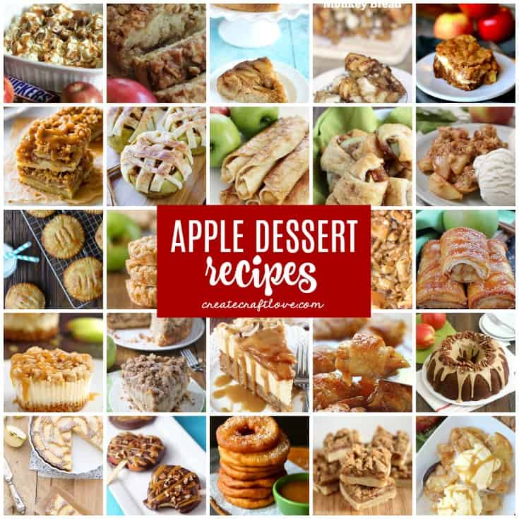 Amazing Apple Dessert Recipes for Fall