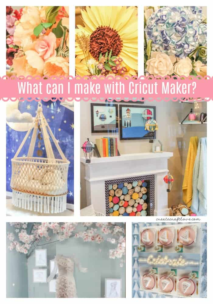 What can I make with the Cricut Maker?